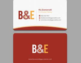#101 for Design the back of a business card af einsanimation