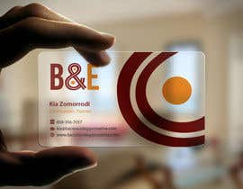 #104 untuk Design the back of a business card oleh einsanimation