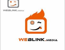 Nro 36 kilpailuun Design a Logo for 'weBlink.Media' käyttäjältä irfanrashid123