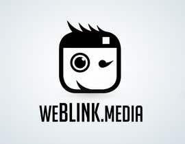#6 para Design a Logo for 'weBlink.Media' por dimmensa