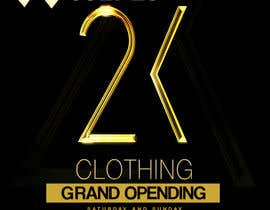 #21 for Design a Flyer for grand opening of clothing store af briangeneral