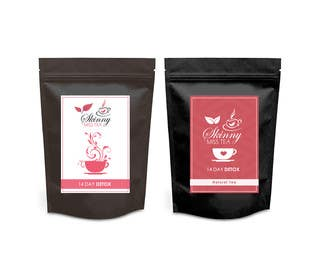 #23 untuk Design a logo and packaging label for tea brand oleh RainMQ