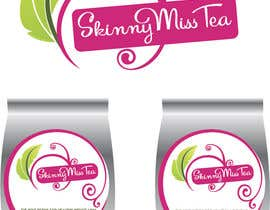 #18 untuk Design a logo and packaging label for tea brand oleh tracksidetees