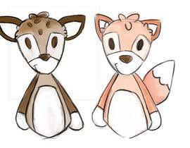 #35 untuk Illustrate Something for Plush Toy set - fox and fawn oleh chloewatx