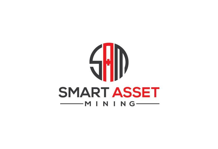 Kilpailutyö #138 kilpailussa Design a Logo for Smart Asset Mining (SAM)