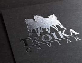 #55 untuk Thiết kế Logo for TROIKA CAVIAR oleh elmadoo