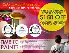 #5 untuk Design a Flyer for a painting company offer oleh designciumas