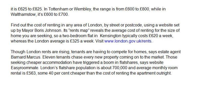 Bài tham dự cuộc thi #2 cho Write some Articles for Apartment Renting