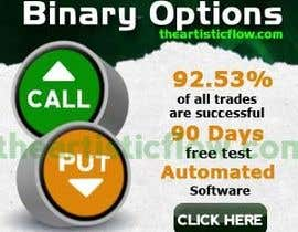 nº 15 pour Design a High CTR Banner for Binary Options par theartisticflow