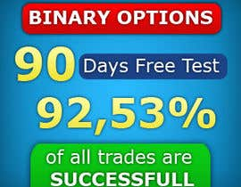 #7 untuk Design a High CTR Banner for Binary Options oleh faisdesign