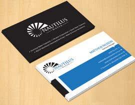 dinesh0805 tarafından Design some Business Cards for Nautilus Water için no 106