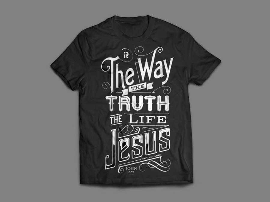 Penyertaan Peraduan #18 untuk Design a T-Shirt for LukesChristianTshirts.com