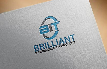 #34 untuk Design a Logo for Brilliant Information Technology oleh alikarovaliya