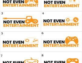 Nro 28 kilpailuun Logo design for Not Even Entertainment käyttäjältä BitDE5IGN