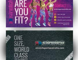 #27 untuk Design a Flyer for Women Sportswear oleh quantumsoftapp