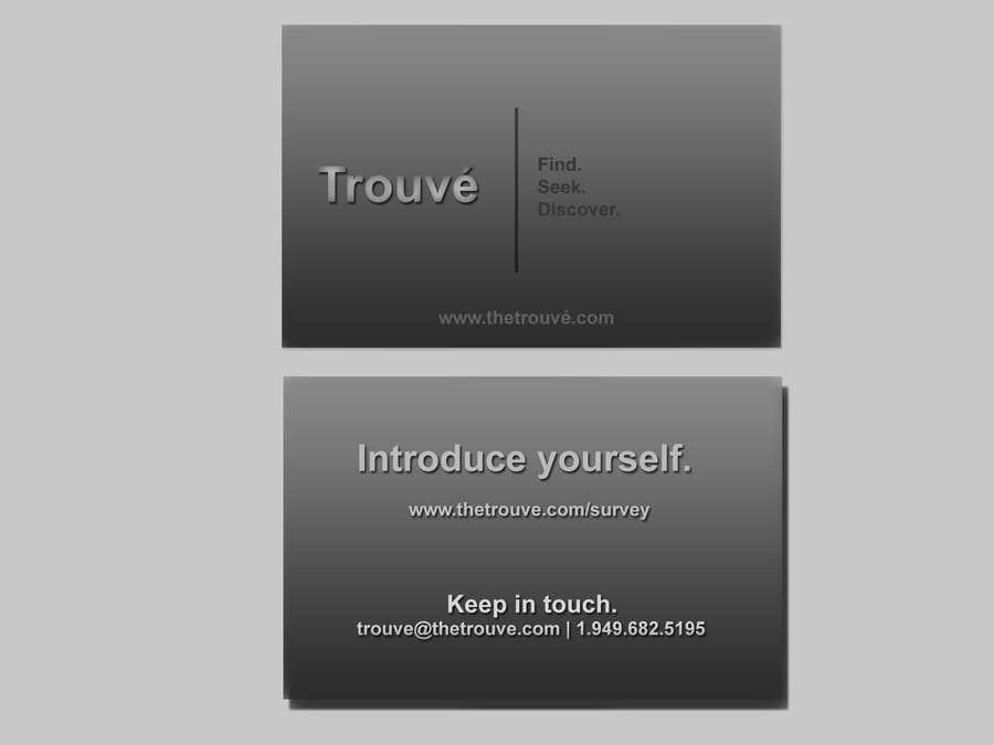Penyertaan Peraduan #                                        18                                      untuk                                         Design Spot UV Business Cards for a Los Angeles Social Network