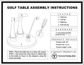 #5 for Create Assembly Instructions for Team Tables by SaranyaKrish