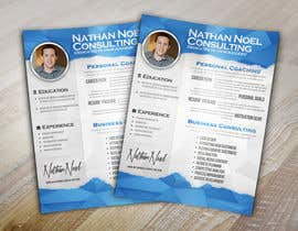 #9 untuk Design a Flyer for a Consulting Business -- 2 oleh abudabi3