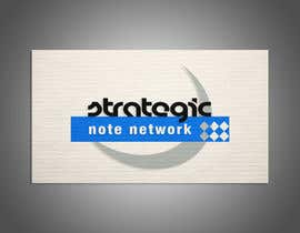 tramezzani tarafından Design a Logo for Strategic Note Network için no 15