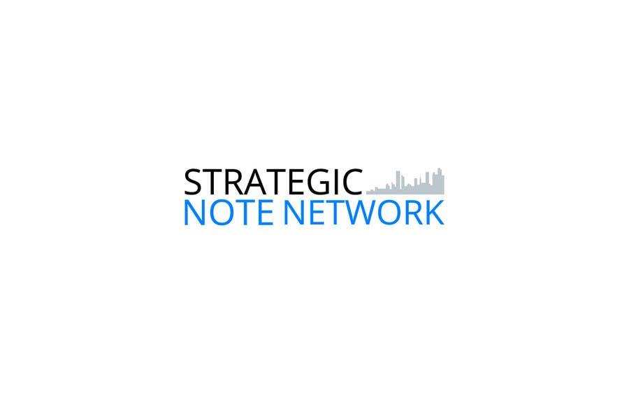 Penyertaan Peraduan #2 untuk Design a Logo for Strategic Note Network