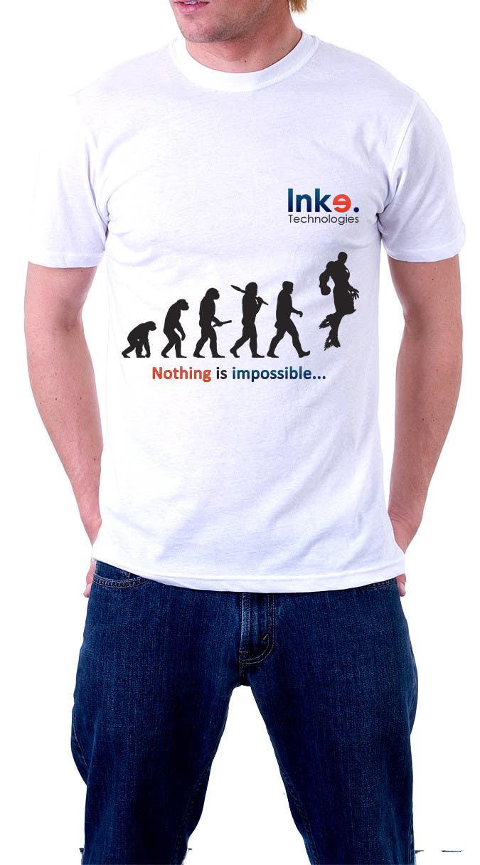 Bài tham dự cuộc thi #11 cho Design a Professional but Cool T-Shirt for a Tech Company