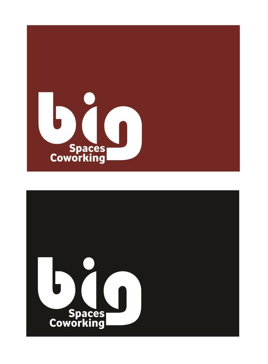 Kilpailutyö #70 kilpailussa Projetar um Logo for Big Spaces Coworking