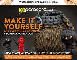 #7 untuk Design a Flyer for Paracord.com oleh silvi86