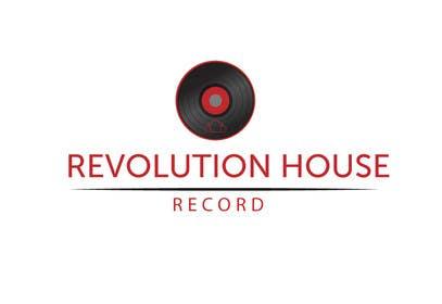 #18 untuk Design a Logo for Revolution House (Record Label) oleh DQD