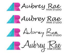 #36 cho Design a Logo for Aubrey Rae Hair Studio bởi sinzcreation
