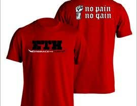 IndraYoga tarafından Design a T-Shirt for Embrace The Hurt için no 12