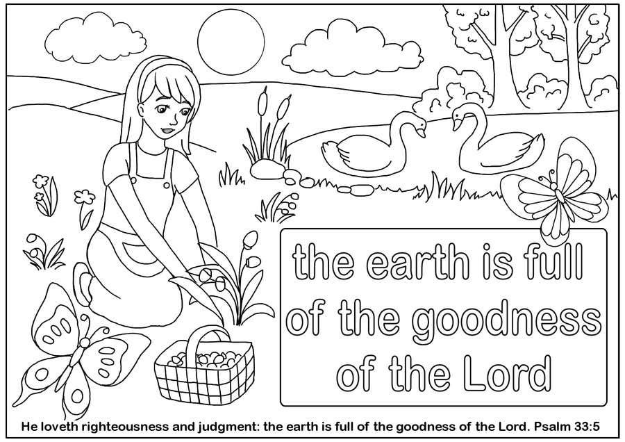 Penyertaan Peraduan #12 untuk Illustrate Something for a Childrens Colouring Book