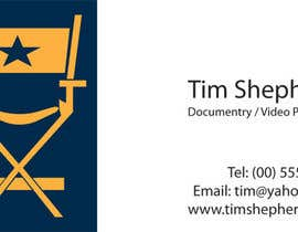 nº 30 pour Business Card Design for Tim Shephard par mgcreations