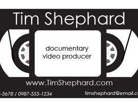 nº 37 pour Business Card Design for Tim Shephard par antmendiola