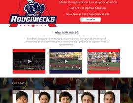 #9 untuk Dallas Roughnecks website design oleh ravinderss2014