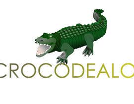 #52 para Design an awesome 3d Crocodile logo por didierprosper