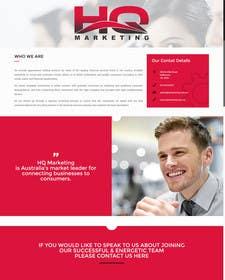 Nro 4 kilpailuun Build a Website for HQ Marketing käyttäjältä KatelynJB