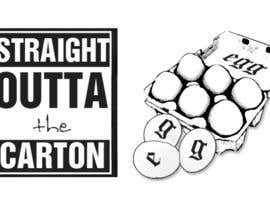 "#10 for Design a T-Shirt for EGG ""Straight Outta THE Carton"" by haykstep"