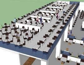 #12 for mall food court ( Furniture arrangement, Floor Planning) by forever555