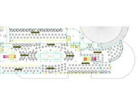winkeltriple tarafından mall food court ( Furniture arrangement, Floor Planning) için no 4