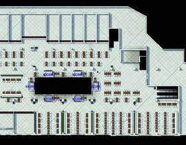 dennisDW tarafından mall food court ( Furniture arrangement, Floor Planning) için no 15