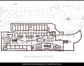 #2 untuk mall food court ( Furniture arrangement, Floor Planning) oleh mahmoudmamdouh