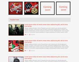 #32 for Design a Website Mockup for CSGOCasino.net af aryamaity