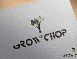 "pernas tarafından Design a Logo for ""Grow Or Chop"" with Grow and Chop buttons. için no 3"