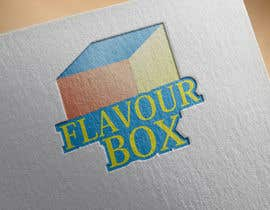 #34 untuk Design a logo for a take away restaurant called 'FLAVOUR BOX' oleh bestdesigner12
