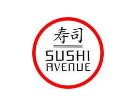 nº 26 pour Design a Logo for SUSHI AVENUE par Irkutsk