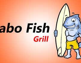 Nro 53 kilpailuun Design a Logo for Restaurant - Cabo Fish Grill käyttäjältä NaderSayedDwedar