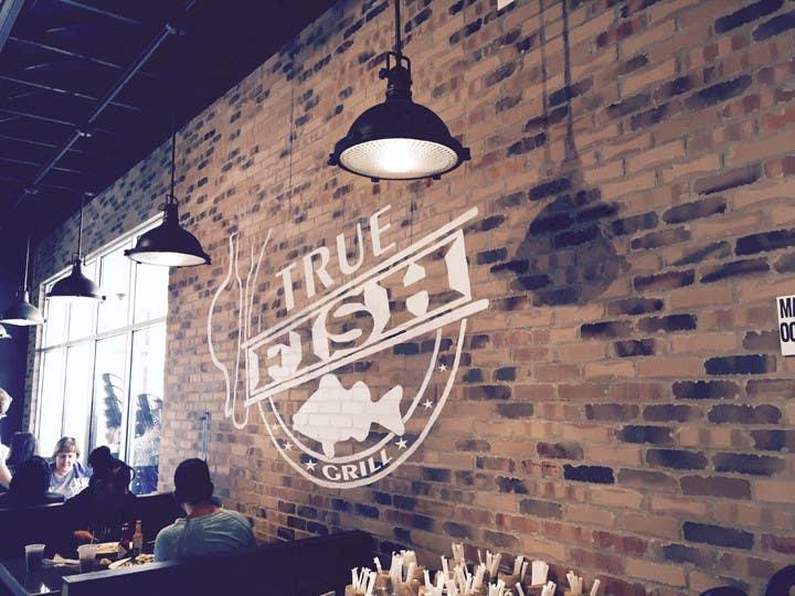Penyertaan Peraduan #39 untuk Design a Logo for Restaurant - True Fish Grill