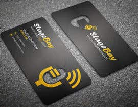 #47 untuk Design business cards for Stagebay oleh anikush