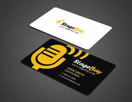 #17 untuk Design business cards for Stagebay oleh einsanimation