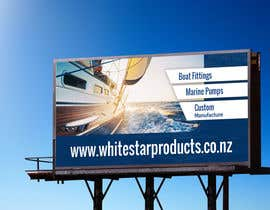 #63 for Design a banner for White Star Products af nizagen